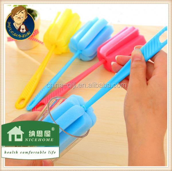 household cleaning tools silicone baby bottle brush