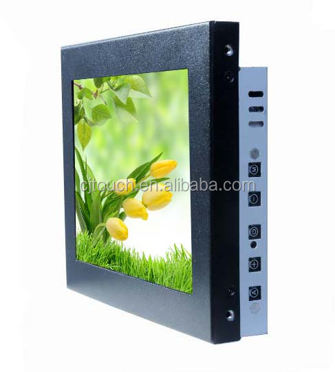 COT080-APF02 8 inch For kiosk information system open frame saw touch screen monitor