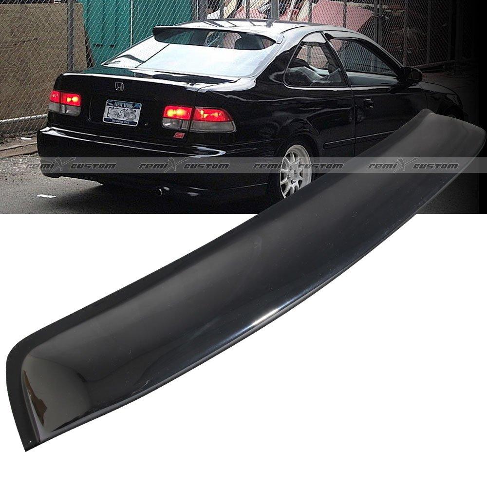 buy   honda civic  door coupe rear window roof visor spoiler wing  cheap price