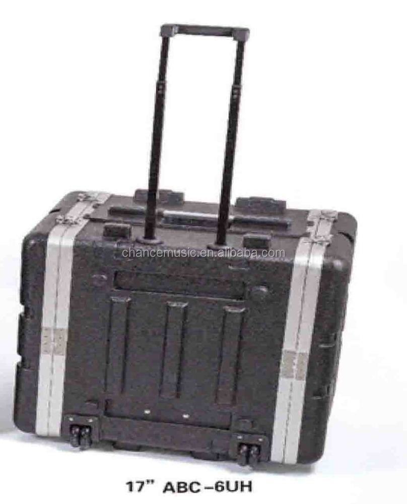 Draagbare Vlucht Versterker Rack Case/Microfoon Case/Mixer Case ABC-GD/6UH/8UH