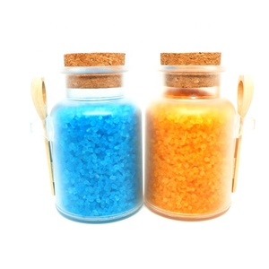 Hot Sell OEM Private Label Free Sample Foot soak Himalayan Dead Sea Salt  Hotel pink Natural Lavender Bath Salt