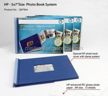 Hp Diy Photo Album Fashionable Photo Book With Hp Advanced Glossy Paper 5r/  127x178mm/ 5