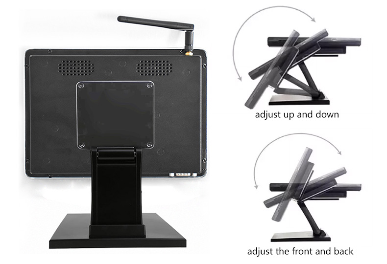 12 Inch Windows Touch screen Pos System For Restaurant