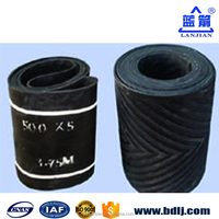 Rubber Conveyor Chevron the big V Top Custom Nylon Belt