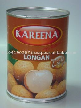 Canned Longan In Light Syrup (565 G) From Thailand