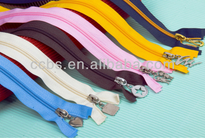 #3 Open End Nylon Zipper Series for exporter