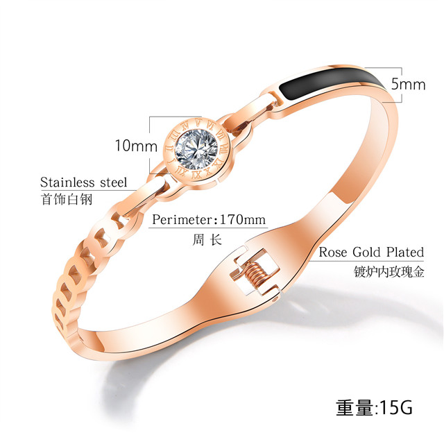China Guangzhou Fashion Jewelry Supplier Stainless Steel Bangle Bracelets For Ladies And Women