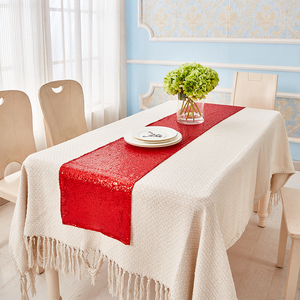 Waterproof Crocheted Telescopic Table Runners For Wedding