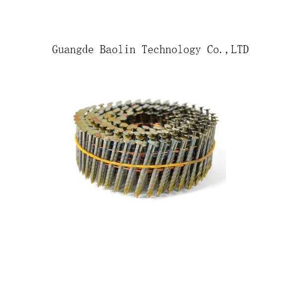 wire coil nails are widely used on pallet