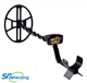 SF-6400i hand underground metal detector gold with 15 inch waterproof DD coil, precise position Gold Prospecting detector metal