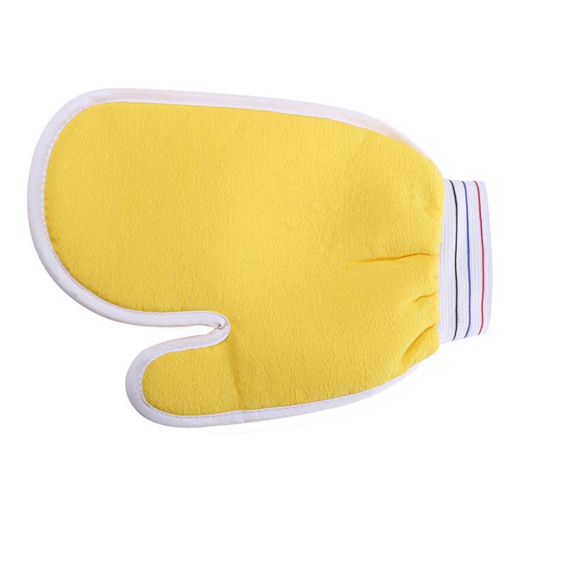 pinceis bath and body works Yellow towel plant fiber + 15.5 * 21cm Bath Gloves necesserie ducha higienica