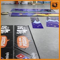 slogan posters/digital printing tarpaulin hanging outdoor banners movie poster design