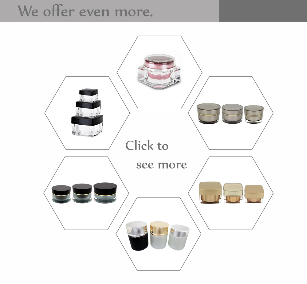 Skin food nourishing whipped moisturizer cream jar 500ml travel use cream jars cosmetic jars plastic jars