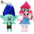 2016 The Newest Movie Trolls Plush Toy Poppy Branch Dream Works Stuffed Cartoon Dolls The Good