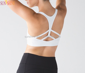 Hot Selling Women Sexy Sports Bra Fitness Wear Custom Made Sportswear
