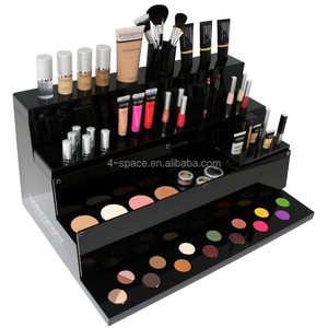 Custom makeup cosmetic display stand acrylic lipstick stand holder for counter top