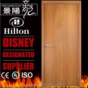 60 minutes Intertek WH mark wooden fire rated timber door