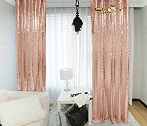 Buy Shinybeauty 3ftx5ft Sequin Backdrop Blush Shimmer Sequin Fabric