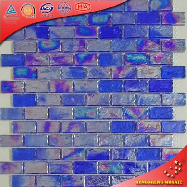 ha04 piscine salle de bain chaud faire fondre bleu cobalt verre mosa que. Black Bedroom Furniture Sets. Home Design Ideas