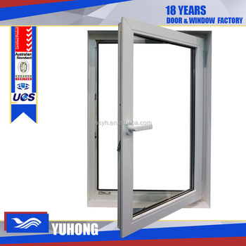 Plastic replacement windows with single sash buy plastic for Replacement window rankings