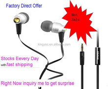 2014 New Design Super Bass Metal earphone Awei ES800M Noise isolating earphone for MP3 MP4 Mobile phone