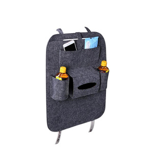 Waterproof Seat Back Cover Large Pocket Car Organizer Back Seat