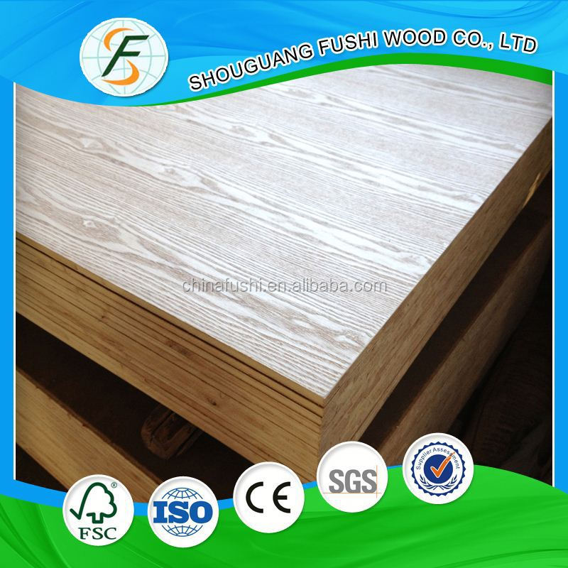 China Supplier Melamine Fancy Blockboard From Chin