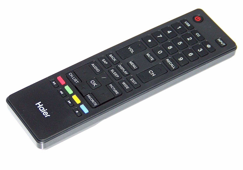 OEM Haier Remote Control Originally Shipped with: 65UFC2500B, 65UGX3500A, 65UGX3500B, 75G2500A, 75UF2500A