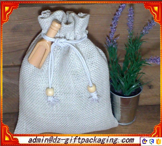 Eco-Friendly Jute Coffee Bag 100 % Jute Biodegradable Bag For Coffee