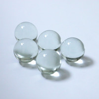 Wholesale15mm large clear solid glass balls sphere for sale