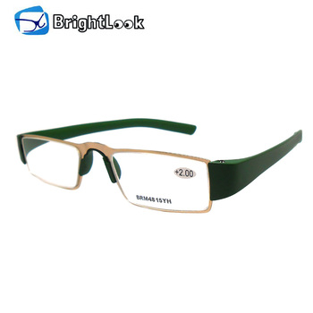3f177aafb640 Metal frame unisex glasses Top Quality Metal Reading Glasses