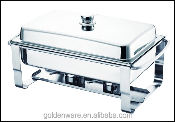 Golden Ware GW-T033 9L New Wholesale nice economy stainless steel electric roll top chafer