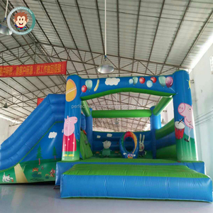 Best material used inflatable jumping cartoon design inflatable bounce house