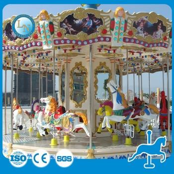 Backyard Amusement Rides Carousel For Sale