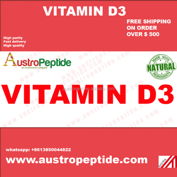 High purity Vitamind3, Vitamin D3, Vitamin d3 Powder