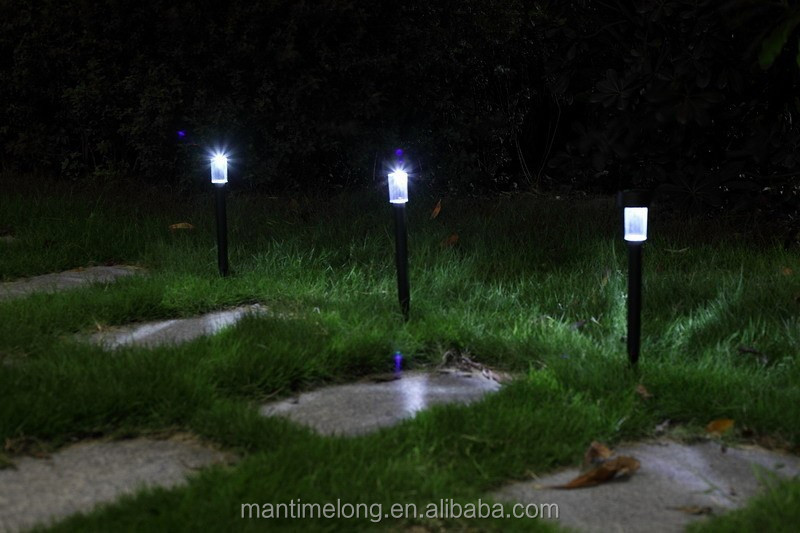 solar cemetery lights
