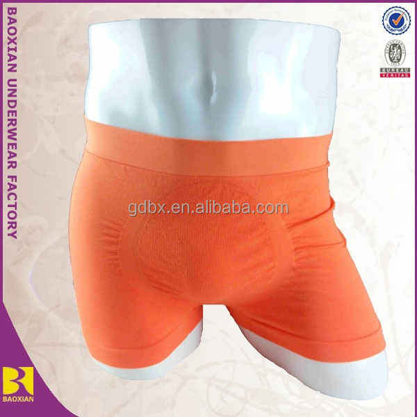 Adults man underwear, Man underwear, Seamless man underwear orange
