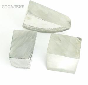 GIGAJEWE Loose moissanite Rough Stone  white Gemstone Ingot Sic crystal EF Color For Jewelry Making