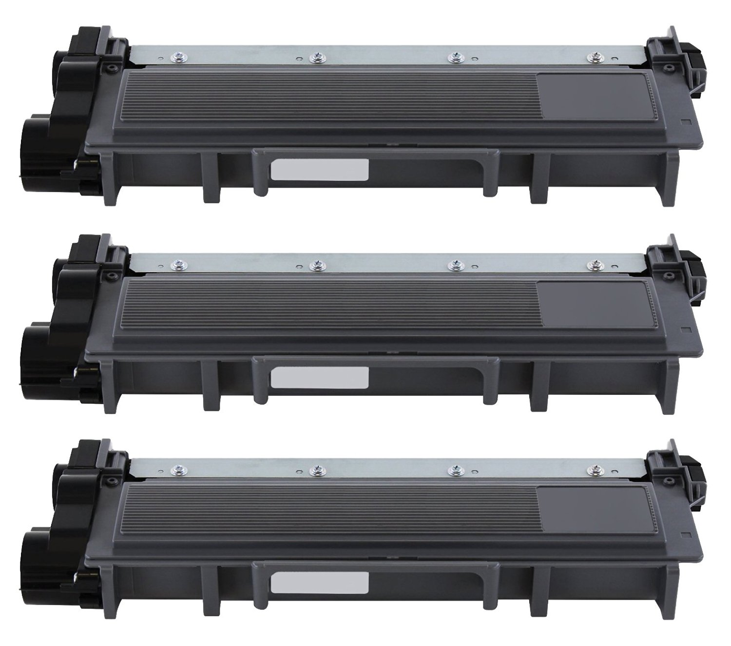 Printronic 3 Pack Compatible Brother TN630 TN660 Toner Cartridge Black for Brother MFC-L2700DW HL-L2340DW MFC-L2740DW DCP-L2520DW DCP-L2540DW HL-L2360DW HL-L2380DW HL-L2300D MFC-L2720DW HL-L2320D MFC-L2705DW Printer