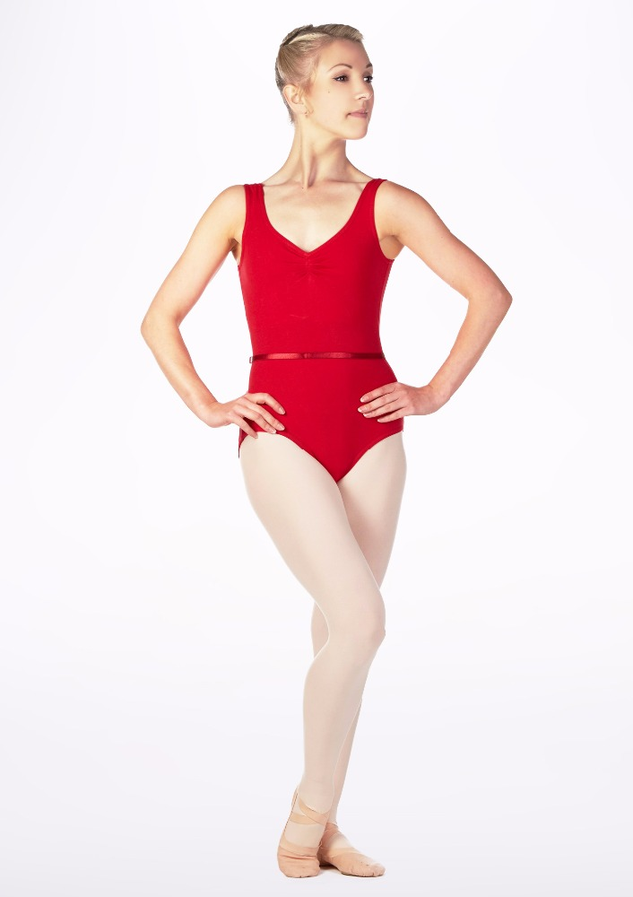 Stock wholesale ballet camisole leotard