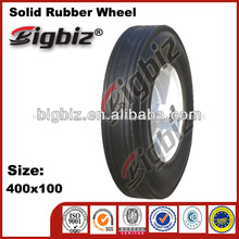 Toy rubber wheel, 7 inch wagon with rubber wheels