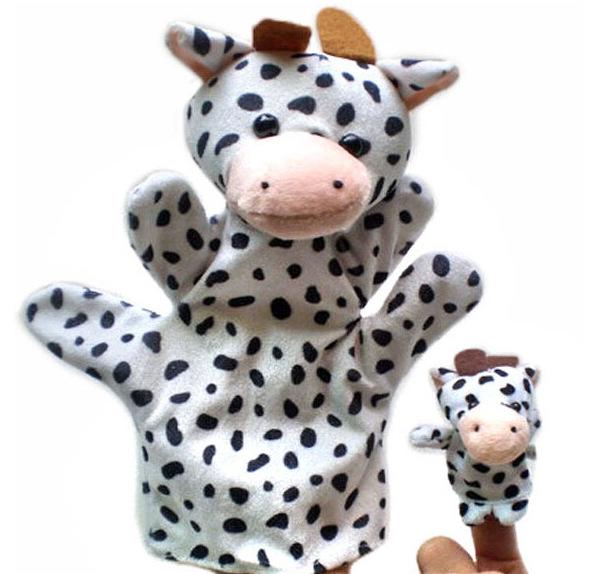 2 шт./лот, 25 см, фермерский зоопарк, животные, большие куклы + маленькие 7 см пальчиковые куклы, игрушки для мальчиков и девочек, вечерняя сумка,...(Китай)