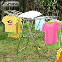 Folding portable clothes rack,baby clothes rack