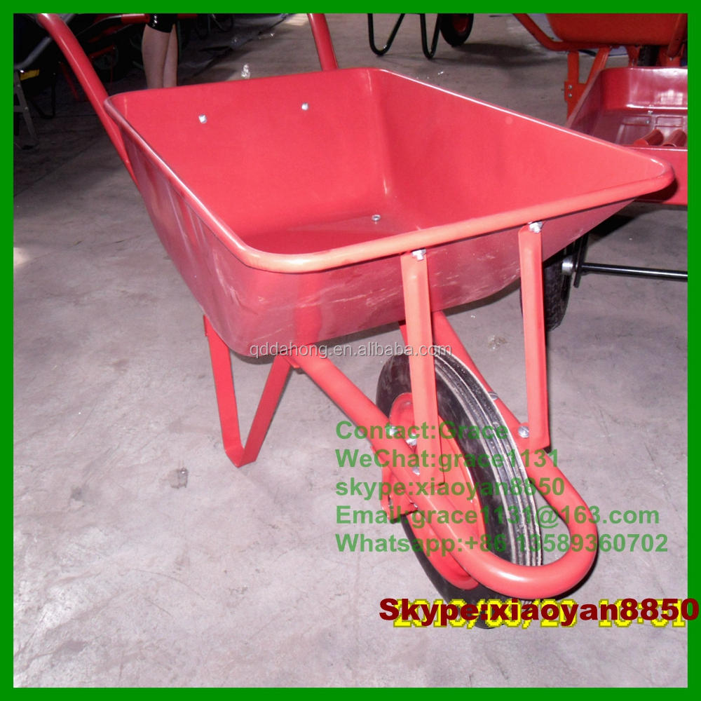 Wb2201 Power Capacity Concrete Buggy Trolley Wheelbarrow Concrete Cart  Single Wheel Barrow Cart Wheel Barrow - Buy Wheelbarrow,Concrete