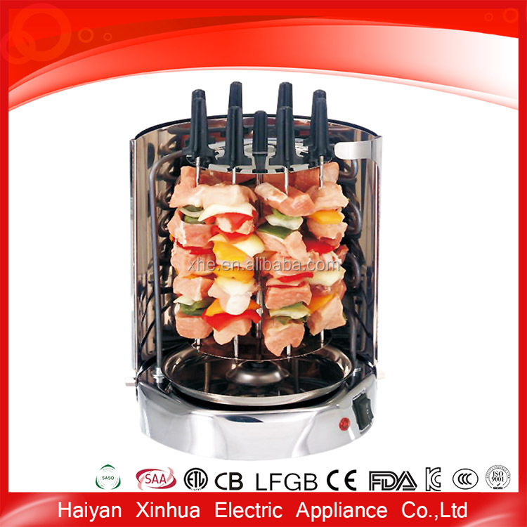 High quality easily cleaned electric metal barbecue grill