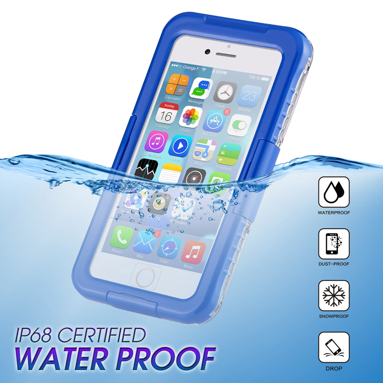 Mobile phone <strong>accessories</strong> 2018 for new ultra strong clear waterproof iphone case for apple iphones 8 Waterproof case for iphone 7