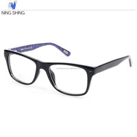 High quality men women are black frame color silhouette optical glasses prices