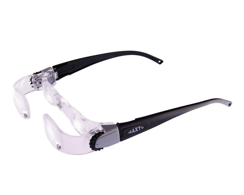6281df6911c6 Get Quotations · TV Magnifying Glasses 2.1X TV Glasses Distance Viewing  Television Magnifying Goggles Magnifier Magnifying Glasses Headband