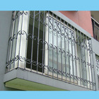 House simple iron window grill design