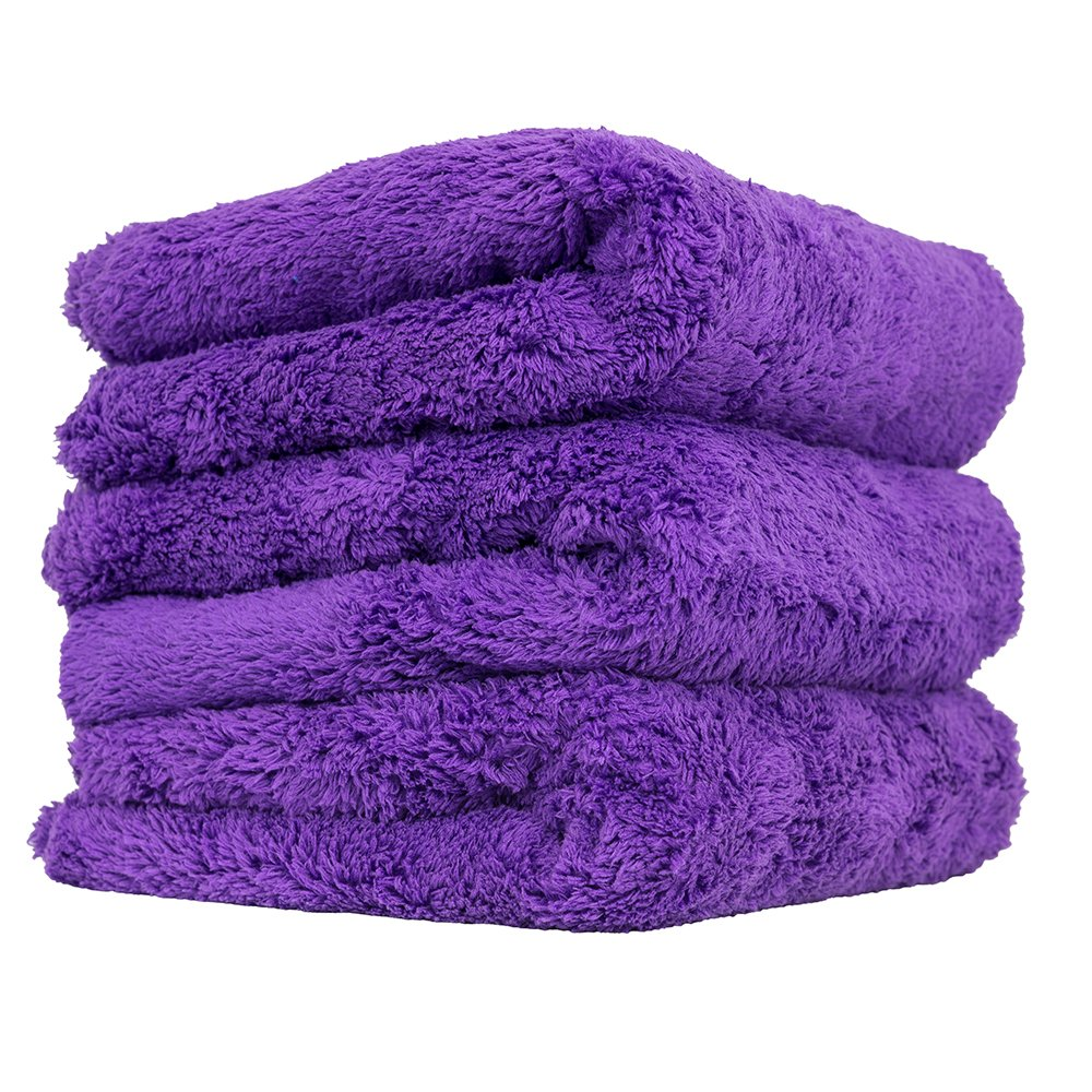 BBNMORE Edgeless Microfiber Towels 16x16 6pack